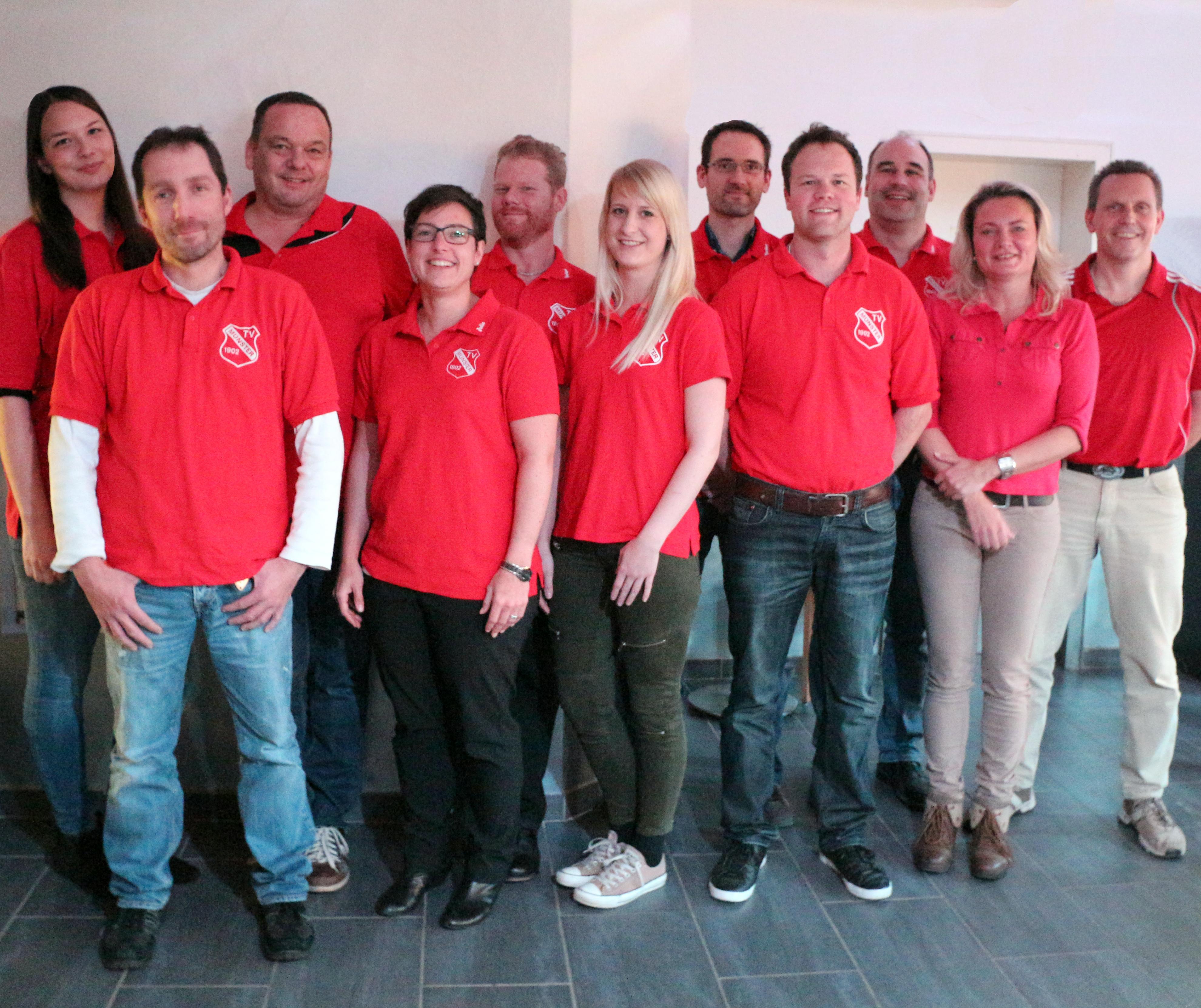 Der Vorstand des TV Münster begrüßt Sie!